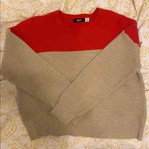 Color block sweater from Urban Outfitters!